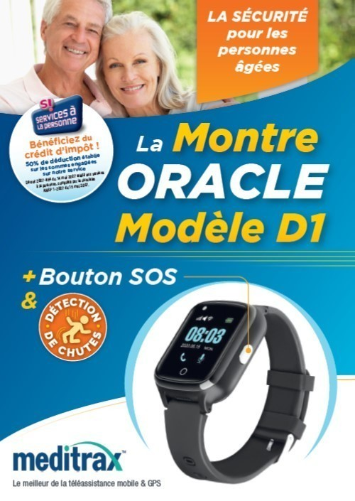 Montre Oracle GPS
